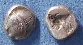 Ancient Coins - Phocaea, Ionia Circa 500 BC, Trihemiobol