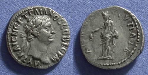 Ancient Coins - Caesarea, Trajan 98-117 AD, Drachm