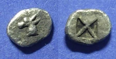 Ancient Coins - Macedonia, Mende Circa 480 BC, Tritartemorion