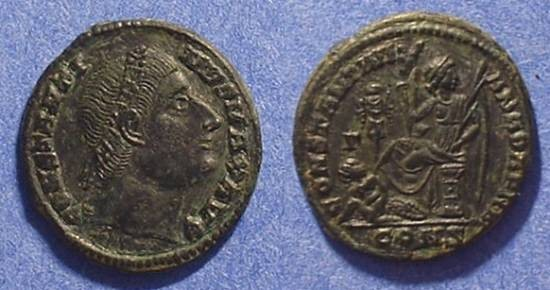 Ancient Coins - Constantine the Great 307-337 - Eyes to heaven