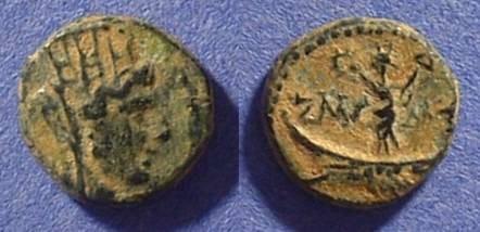 Ancient Coins - Tyre Phoenicia AE12 Circa 100 BC