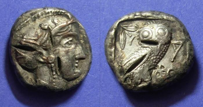 Ancient Coins - Athens, Eastern Imitation Circa 380 BC, Tetradrachm
