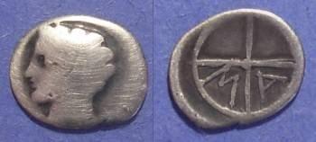 Ancient Coins - Massalia, Gaul 200-121 BC, Obol