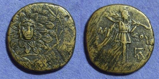 Ancient Coins - Amisos Pontos - AE22 Circa 100 Time of Mithradates