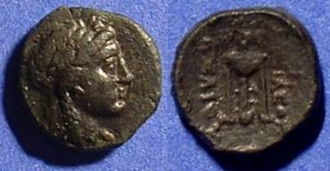 Ancient Coins - Seleucid Kingdom: Achaios 220-214 BC - Usurper in Asia Minor - AE12