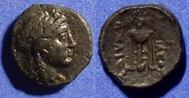 Ancient Coins - Seleucid Kingdom: Achaios 220-214 BC - Usurper in Asia Minor - AE12