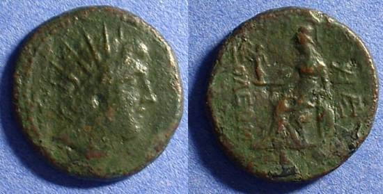 Ancient Coins - Soloi Cilicia - AE24 3rd-2nd century BC