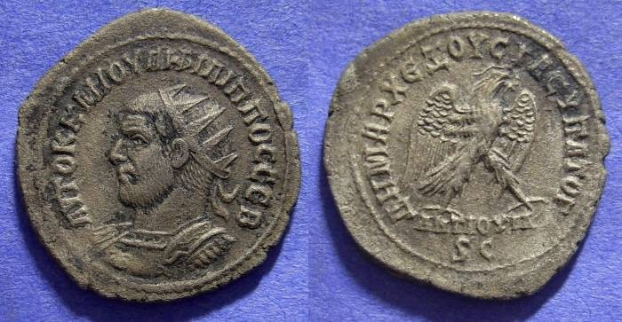 Ancient Coins - Roman Antioch - Philip I : 244-9  Tetradrachm