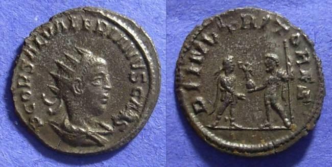 Ancient Coins - Roman Empire, Saloninus (Caesar) 355-9, Antoninianus