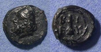 Ancient Coins - Birytis, Troas Circa 300 BC, AE11
