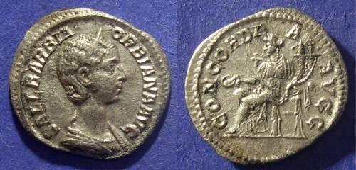 Ancient Coins - Roman Empire, Orbiana 225/6 AD, Denarius