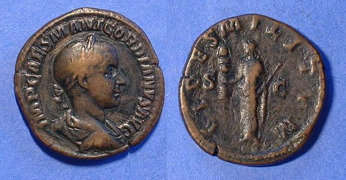 Ancient Coins - Gordian III 238-244 AD Sestertius