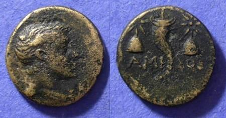 Ancient Coins - Amisos Pontos - AE 18 100-63 BC