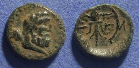Ancient Coins - Pisidia, Selge Circa 150 BC, AE13