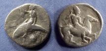 Ancient Coins - Calabria, Taras Circa 415 BC, Nomos