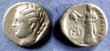 Ancient Coins - Thessaly, Pherai 302-286 BC, Hemidrachm