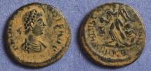 Ancient Coins - Roman Empire, Theodosius 379-395, AE4