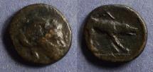 Ancient Coins - Argolis, Argos 125-75 BC, AE14