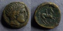 Ancient Coins - Macedonian Kingdom, Phillip II 339-336 BC, AE16
