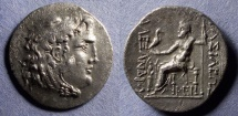Ancient Coins - Kings of Thrace, In the name of Alexander III Struck 225-215, Tetradrachm