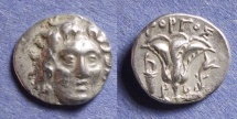 Ancient Coins - Rhodes, Gorgos magistrate 205-190 BC, Drachm