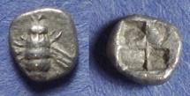 Ancient Coins - Ionia, Ephesos 550-500 BC, Obol