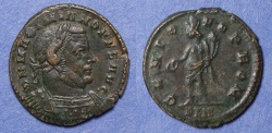 Ancient Coins - Roman Empire, Maximianus - Second reign 306-8, Follis