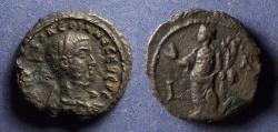 Ancient Coins - Roman Egypt - Alexandria, Valerian 253-260, Tetradrachm
