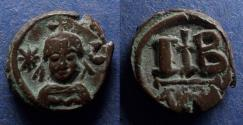 Ancient Coins - Byzantine Empire, Heraclius 610-641, 12 Nummi