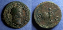 Ancient Coins - Roman Empire, Nero 54-68, As
