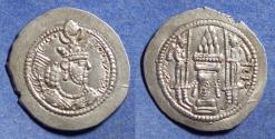 Ancient Coins - Sassanian Kingdom, Yazdgard II 438-457, Silver Drachm