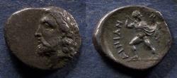 Ancient Coins - Thessaly, Aenianes Circa 350 BC, Hemidrachm