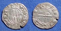 World Coins - Crusader states: Antioch, Bohemond III 1163-1201, Billon Denier