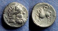 Ancient Coins - Eastern Europe Celtic, Kugelwange type Circa 150 BC, Drachm
