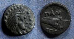 Ancient Coins - Cimmerion Bosporos, Pantikapeion 325-250 BC, AE14