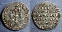 Ancient Coins - Byzantine Empire, Basil II 976-1025, Miliaresion