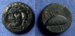 Ancient Coins - Aeolis, Gryneion Circa 350 BC, AE11
