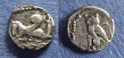 Ancient Coins - Phoenicia, Tyre 425-394 BC, 1/16 Shekel