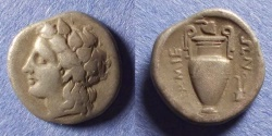 Ancient Coins - Lamia, Thessaly 400-375 BC, Hemidrachm