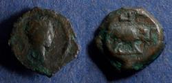 Ancient Coins - Roman Egypt, Trajan 98-117, Dichalkon