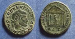 Ancient Coins - Roman Empire, Maxentius 306-312, Follis