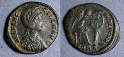 Ancient Coins - Roman Empire, Aelia Flaccilla 378-383, AE2