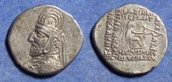 Ancient Coins - Parthian Kingdom, Orodes I 90-77 BC, Silver Drachm