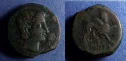 Ancient Coins - Spain, Castulo Circa 120 BC, AE26