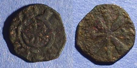 Ancient Coins - Crusader Tripoli: AE Pougeoise of Raymond III 1152-87