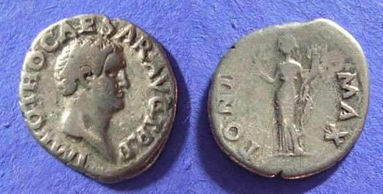 Ancient Coins - Otho January to April 69AD – Denarius – Full legends