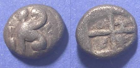 Ancient Coins - Chios, Island off of Ionia 435-425 BC, Drachm