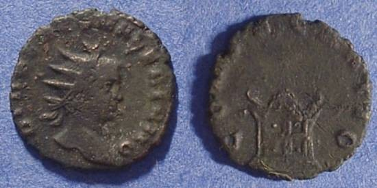 Ancient Coins - Valerian II (son of Gallienus) D. 258AD - Antoninianus