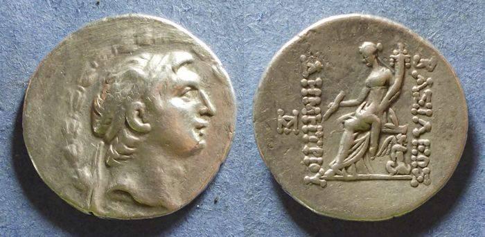 Ancient Coins - Seleucid Kingdom, Demetrios I 162-150 BC, Tetradrachm