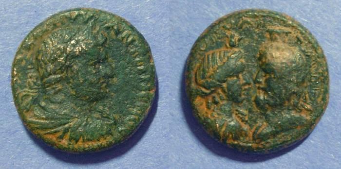Ancient Coins - Flaviopolis Cilicia, Caracalla 198-217 AD, AE25
